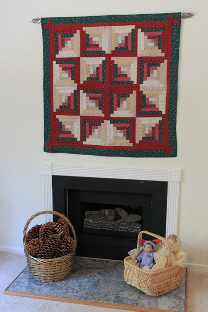 My log cabin quilt